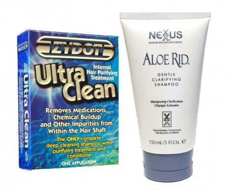 Aloe Rid & Zydot Ultra Clean Hair Shampoo